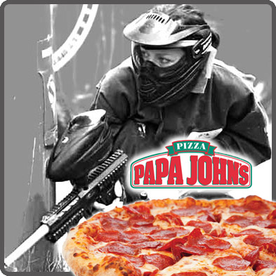 Paintball-Pizza